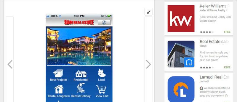 Siam Real Estate App